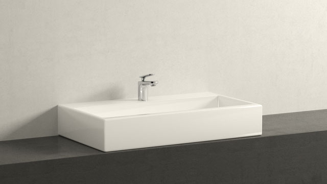 GROHE Veris XS-Størrelse + Laufen Living City