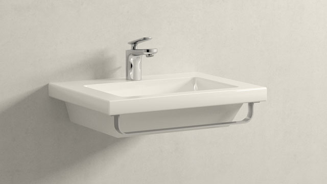 GROHE Veris XS-SIZE + Laufen Living Square