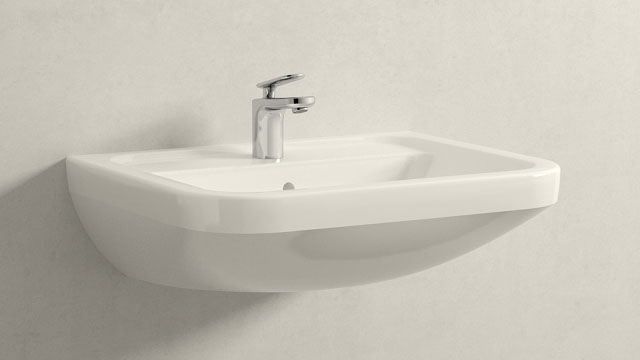 GROHE Veris XS-TAILLE + Villeroy&Boch Omnia architectura