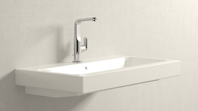 GROHE Veris L-TAILLE + Keramag iCon