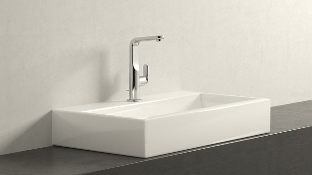 GROHE Veris LΜΕΓΕΘΟΣ + Laufen Living City