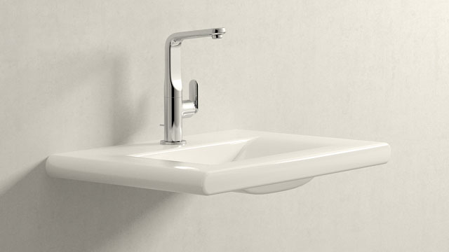 GROHE Veris L-SIZE + Laufen Living Style