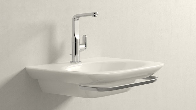 GROHE Veris L-VELIKOST + Laufen Palace