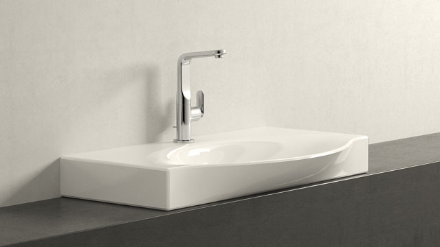 GROHE Veris L-TAILLE + Laufen Palace