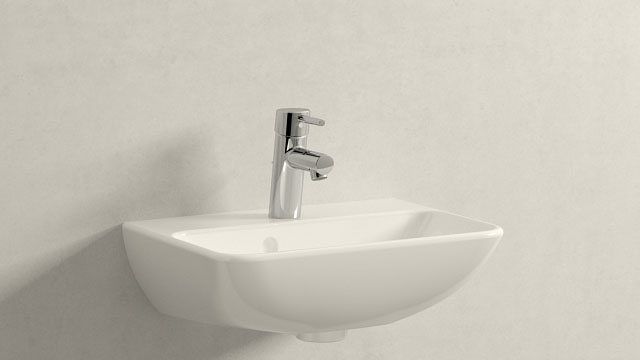 GROHE Concetto S-SIZE + Duravit ME by Starck