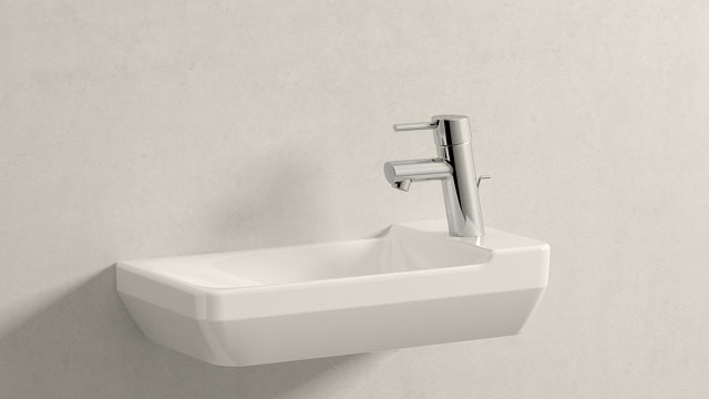 GROHE Concetto S-ГАБАРИТЫ + Duravit P3 Comforts