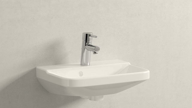 GROHE Concetto S-SIZE + Duravit P3 Comforts