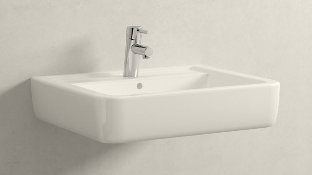 GROHE Concetto S-SIZE + Keramag Renova Nr. 1 Plan