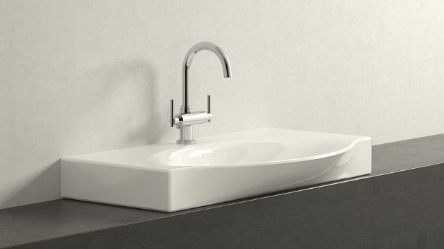 GROHE Concetto S-SIZE + Laufen Palace