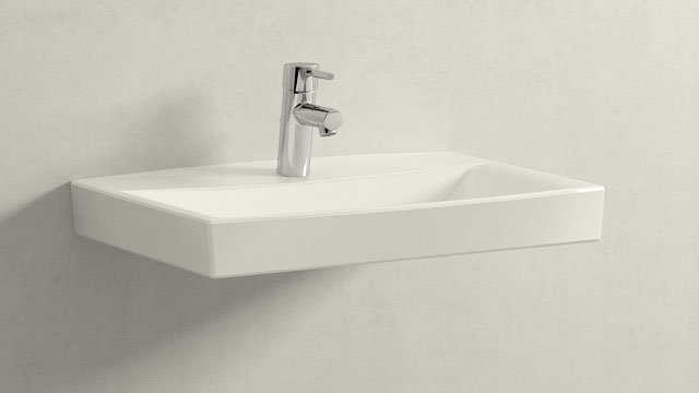 GROHE Concetto S-SIZE + Laufen pro-n