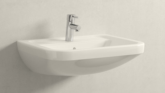 GROHE Concetto S-ГАБАРИТЫ + Villeroy&Boch Omnia architectura