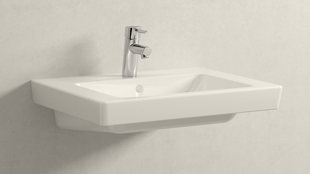 GROHE Concetto S-ГАБАРИТЫ + Villeroy&Boch Subway 2.0