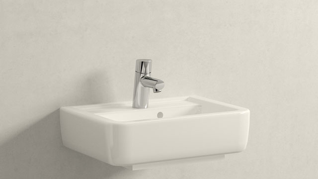 GROHE Concetto XS-SIZE + Keramag Renova Nr. 1 Plan