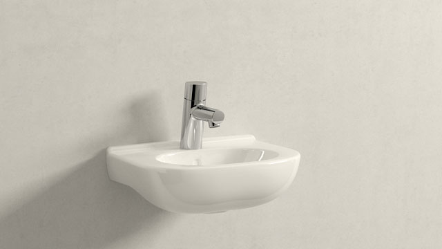 GROHE Concetto XS-ГАБАРИТЫ + Villeroy&Boch O.novo