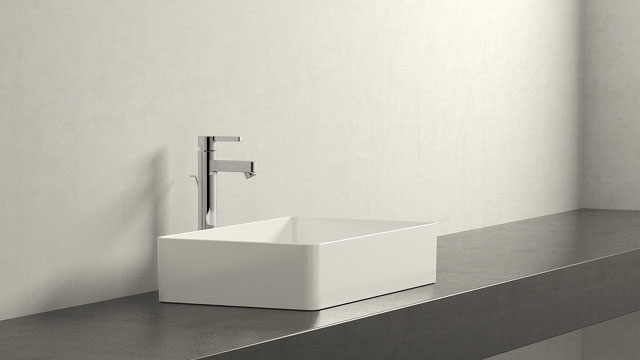GROHE LINEARE XL-SIZE + Laufen Living Square