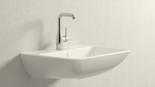 GROHE Essence NEW L-TAILLE + Duravit ME by Starck