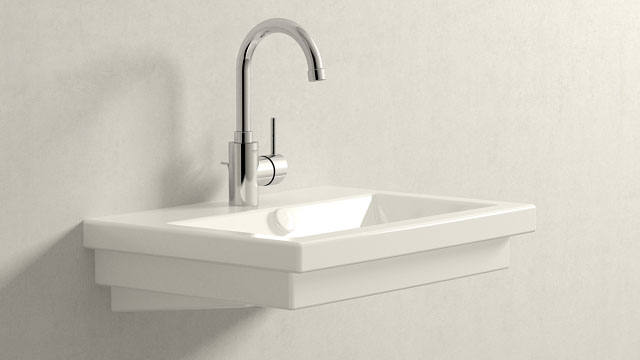 GROHE Concetto L-SIZE + Duravit 2nd floor