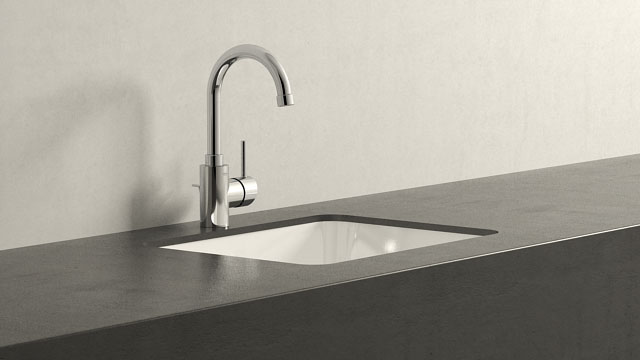 GROHE Concetto L-TAILLE + Keramag Renova Nr. 1 Plan