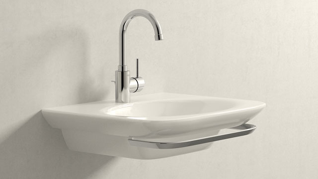 GROHE Concetto L-ГАБАРИТЫ + Laufen Palace