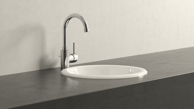 GROHE Concetto L-TAILLE + Villeroy&Boch Loop & Friends