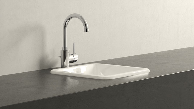 GROHE Concetto LStorlek + Villeroy&Boch Loop & Friends