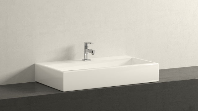 GROHE Quadra XS-SIZE + Laufen Living City
