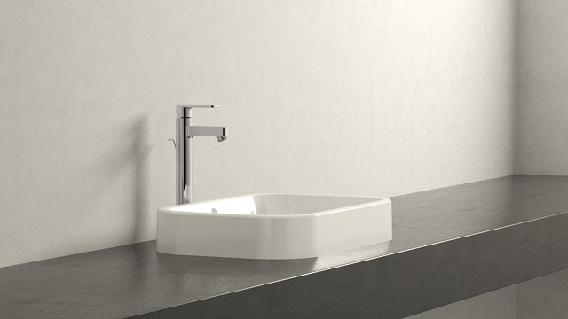 GROHE Quadra XL-SIZE + Duravit Happy D.2