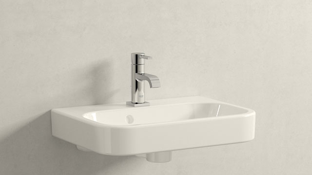 GROHE Allure STAGLIA - + Duravit Happy D.2