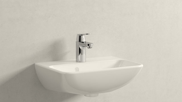 GROHE Eurosmart Cosmopolitan S-TAILLE + Duravit ME by Starck