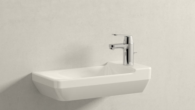 GROHE Eurosmart Cosmopolitan S-TAILLE + Duravit P3 Comforts