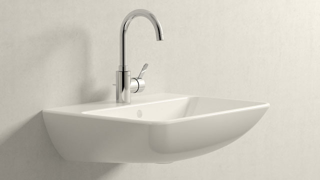 GROHE Eurosmart Cosmopolitan L-TAILLE + Duravit ME by Starck