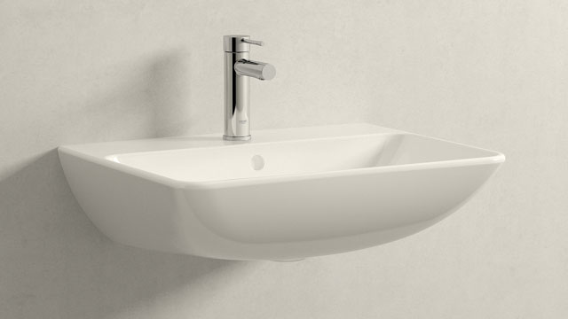 GROHE Essence NEW S-SIZE + Duravit ME by Starck