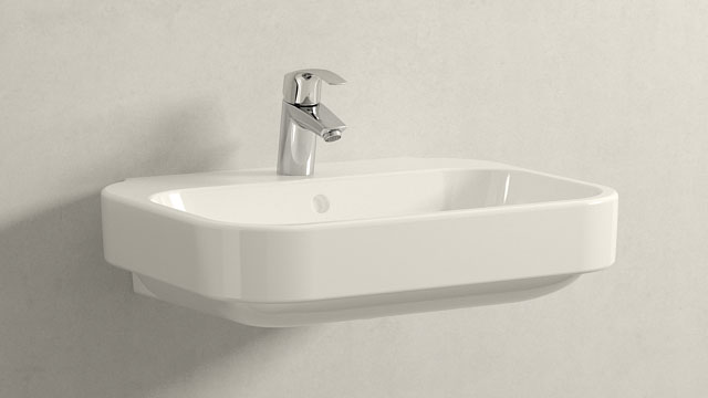 GROHE Eurosmart NEW STAGLIA - + Duravit Happy D.2