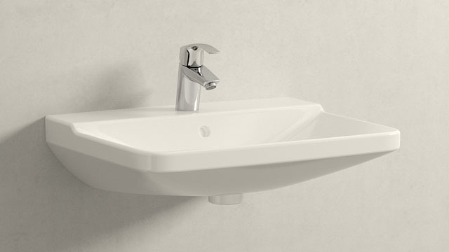 GROHE Eurosmart NEW S-TAILLE + Duravit P3 Comforts