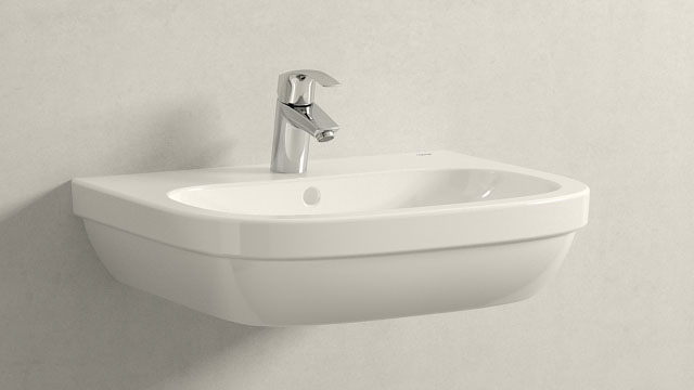 GROHE Eurosmart NEW S-TAILLE + GROHE Euro Ceramic