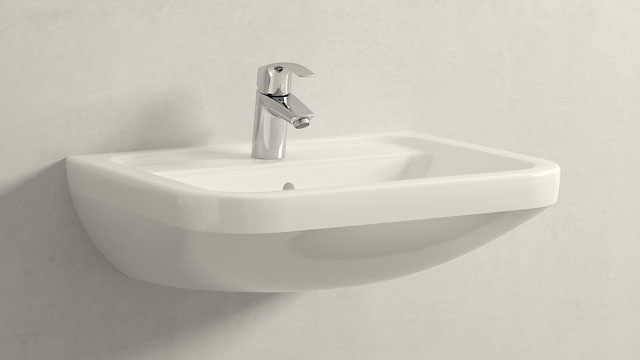 GROHE Eurosmart NEW S-TAILLE + Villeroy&Boch Omnia architectura