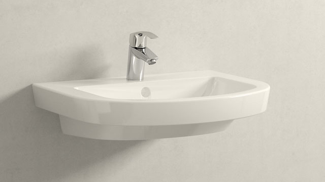 GROHE Eurosmart NEW S-TAILLE + Villeroy&Boch Subway 2.0