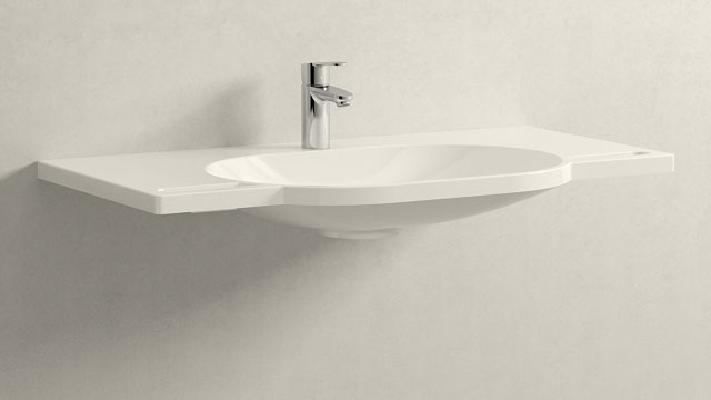 GROHE Eurostyle Cosmopolitan S-TAILLE + HEWI Waschtisch