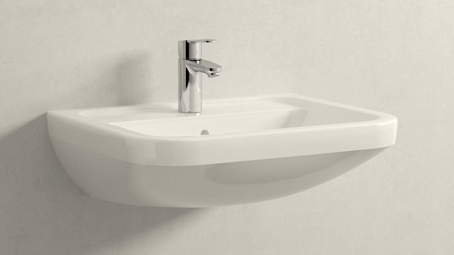 GROHE Eurostyle Cosmopolitan S-ГАБАРИТЫ + Villeroy&Boch Omnia architectura