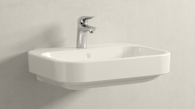GROHE Eurostyle S-SIZE + Duravit Happy D.2
