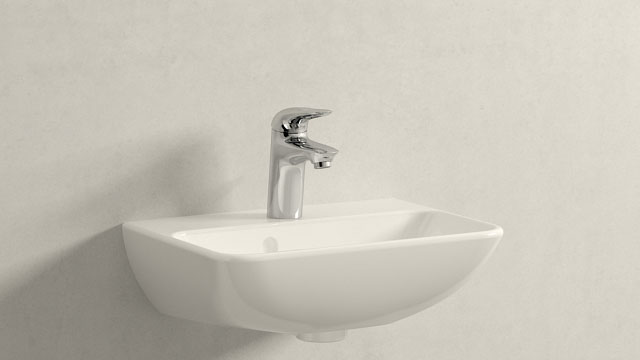 GROHE Eurostyle S-SIZE + Duravit ME by Starck