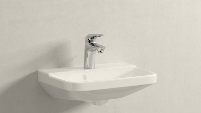 GROHE Eurostyle S-SIZE + Duravit P3 Comforts