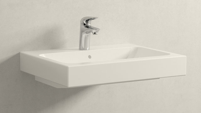 GROHE Eurostyle S-ГАБАРИТЫ + Keramag iCon