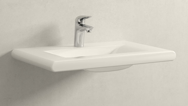 GROHE Eurostyle S-SIZE + Laufen Living Style