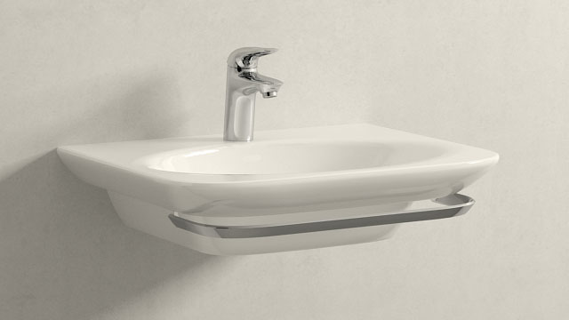 GROHE Eurostyle S-ГАБАРИТЫ + Laufen Palace