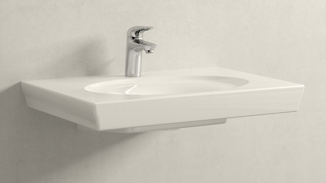GROHE Eurostyle S-ГАБАРИТЫ + Villeroy&Boch LaBelle