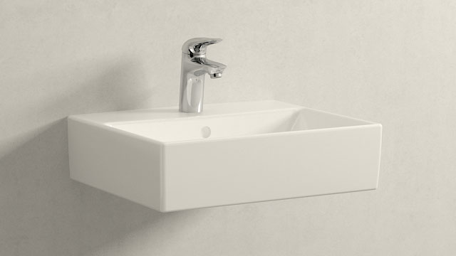 GROHE Eurostyle S-ГАБАРИТЫ + Villeroy&Boch Memento