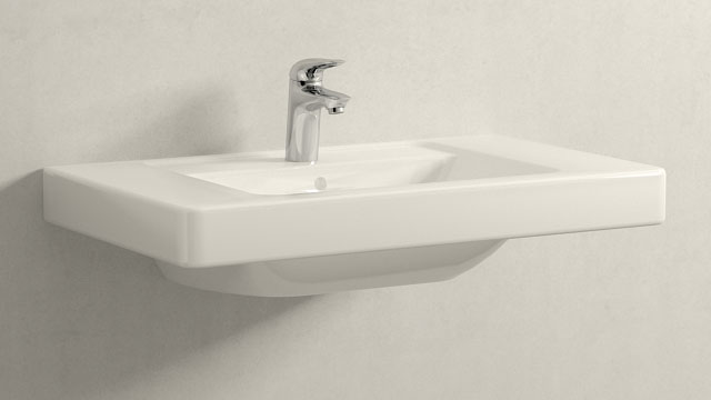 GROHE Eurostyle S-SIZE + Villeroy&Boch Omnia architectura