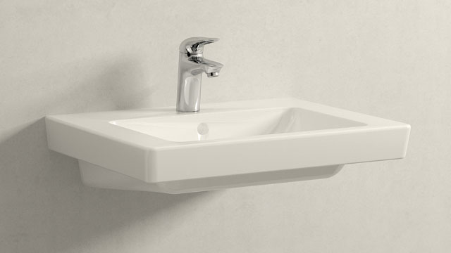 GROHE Eurostyle S-ГАБАРИТЫ + Villeroy&Boch Subway 2.0